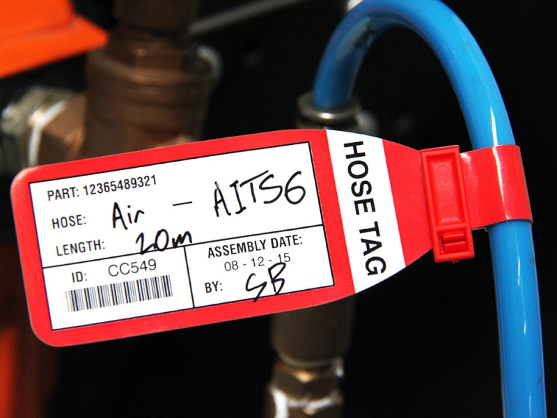 Hose Tags For Hydraulics Amp Pneaumatics