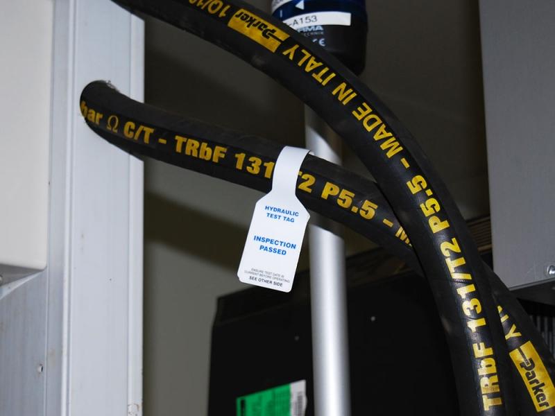 Hose Tags for Hydraulics & Pneaumatics